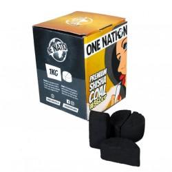 ONE NATION Lotus Dilimli Nargile Kömürü 1 KG