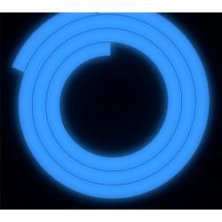 ShishaBulls Karanlıkta Parlayan Neon Soft Touch Hortum - Mavi