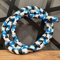 Soft Touch Hortum - Mavi Siyah Kamuflaj