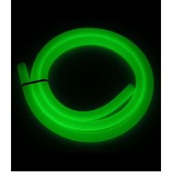 ShishaBulls Karanlıkta Parlayan Neon Soft Touch Hortum - Yesil