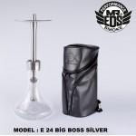MR.EDS Bigboss PRO Nargile Takımı Silver