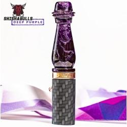 ShishaBulls - Kehribar Askılı Sipsi XL - Deep Purple